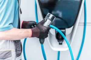 puntos de carga vehiculos electricos